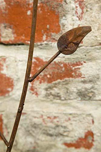 kuheiga Gartenstecker/Dekoblume Rose - 9
