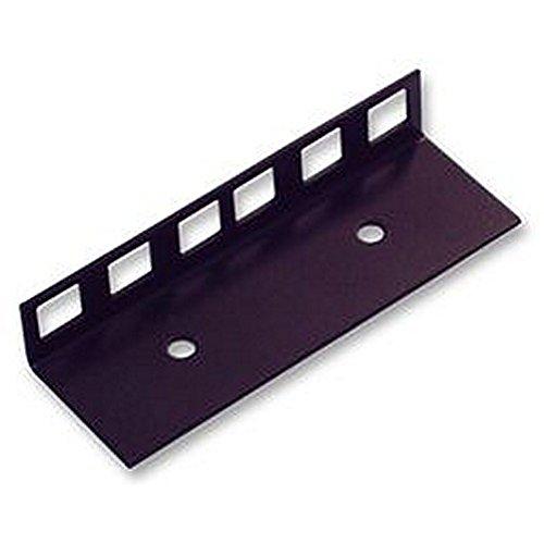 Rack Strip, 1,5 mm Stahl 2U SVHC: kein SVHC Außenbreite: 32,5 mm Rack U Höhe: 2 kompatibel mit M6 Schraube und unverlierbare Mutter Befestigungslöcher 1U = 44,5 mm Zubehör