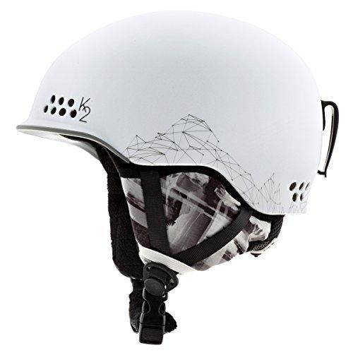 K2 Damen Skihelm Ally, White, 51-55, 1034003.1.3.S