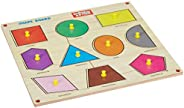 Zitto Premium Wooden Classic Shapes Educational Puzzle Toy