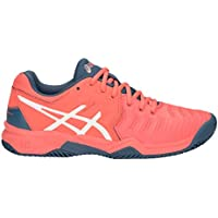 new product c2ca1 1e4fe ASICS Unisex Kids  Gel-Resolution 7 Clay Gs Tennis Shoes
