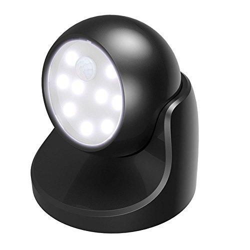 XIHAA 360-Grad-Drehung Kreative Hause Sensor Leuchtet Intelligente LED Indoor-Outdoor-Sensor Leuchtet (Led-belegungs-sensor-licht)