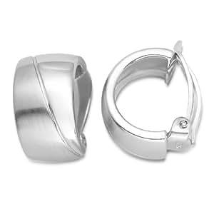 Miore Damen-Ohrclip 925 Sterling Silber MSM140E
