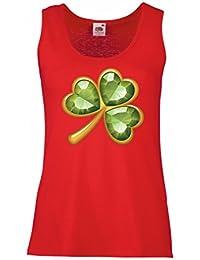 b70d26692 lepni.me Womens Tank Tops Shamrock - Symbol of Ireland Saint Patricks/ST  Paddy's