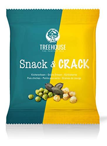 Treehouse Snack & Crack  Knackige Mischung aus Kichererbsen, gesalzenen, grünen...