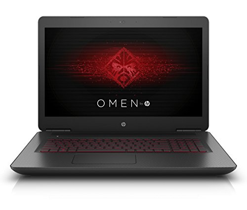 "HP OMEN (17-w102ng) Portatile, 17.3"", Intel Core i7-6700HQ, 16 GB RAM, 256 GB SSD+1 TB HDD, NVIDIA GeForce GTX 1070, Windows 10, Nero [Germania]"