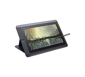 Wacom DTH -1300 Display Interattivo Full HD con Penna Cintiq e Touch, 13 Pollici, Nero