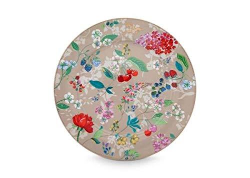 Pip Studio Teller Hummingbirds | Khaki - 32 cm -