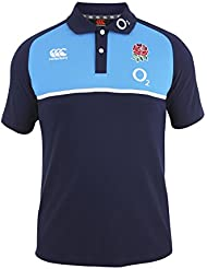 England RFU Cotton Training Polo 6 Nations 2016 - Peacoat