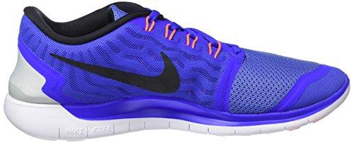 Nike Free 5.0, Chaussures de Running Entrainement Femme Bleu (Blue)