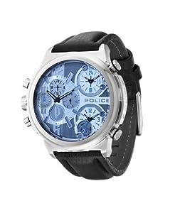 Reloj Police PL.13595JS-13 de cuarzo para hombre con correa de piel, color negro de Police