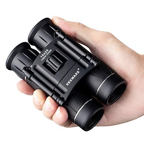 KEXWAXX Fernglas Kompakt, Klein Fernglas für Kinder Erwachsene, Mini HD-Teleskop mit Einstellbarem Fokus für Outdoor-Sightseeing, Klettern, Theater, Reisen und Konzert