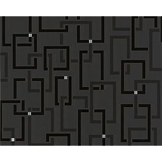 Tapete AS SPOT Design Vliestapete 2305-22 230522 Schwarz