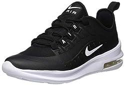 Nike Unisex-Kinder Sneaker Air Max Axis, Schwarz (Black/White 001), 37.5 EU
