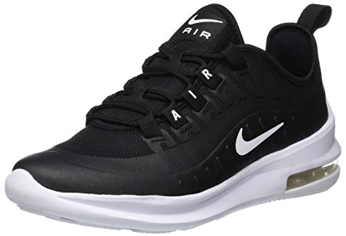 Nike Unisex-Kinder Sneaker Air Max Axis, Schwarz (Black/White 001), 37.5 EU