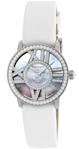 Tiffany & Co. Wristwatch Atlas Cocktail Round Diamond K18wg Z1900.10.40e91a40b