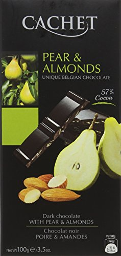 cachet-dark-chocolate-pear-and-almonds-bar-100-g-pack-of-6