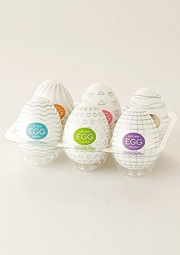 Tenga Egg 6er Pack (Variety Pack), Masturbator -