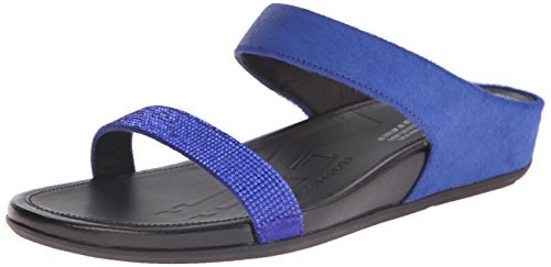 Fitflop Banda Slide Damen Sandalen Blau Blue