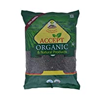 Accept Organic Urad Whole/Black Gram Whole -1 Kg
