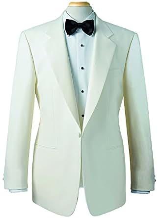 Brook Taverner Savoy Tuxedo Dinner Jacket - White - 40L