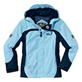 Jack Wolfskin Topaz Jacket Girls (marble blue), 116