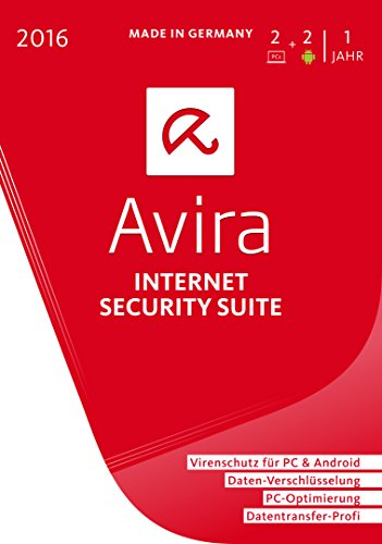 Avira Internet Security Suite 2016 - 2 Geräte / 1 Jahr -