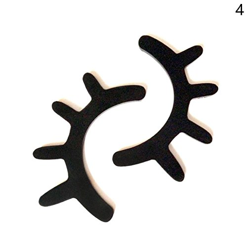 Cool Ring 2 Stücke 3D Wimpern Sleepy Augen Holz Ornament DIY Nette Baby Zimmer Wand Dekoration Auge Aufkleber Geschlossene Holz Ornamente