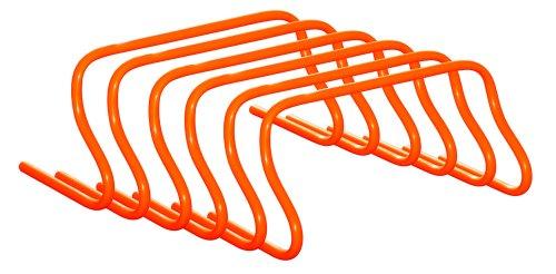 6er Set, Höhe: 23 cm, befüllbare Koordinationshürden / Hürden