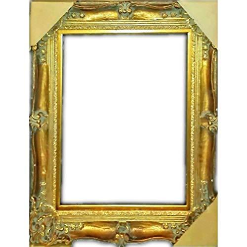 Vintage 20Th Century Gold Gold auf Holz-Bilderrahmen, 50,8 x 61 cm