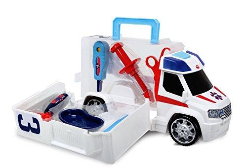 Dickie Toys 203716000 - Ambulance Push and Play, Krankenwagen Zubehör, 33 cm Preisvergleich