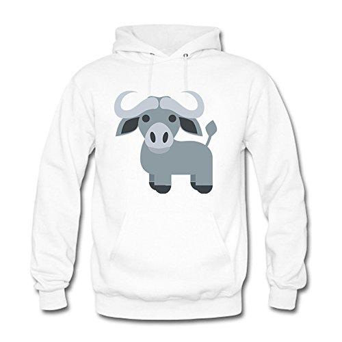 LizzieYun Herren Sweatshirt Hoodie Cattle Silhouette Printed Hoodie Hoody mit Kapuze Jacke 3XL (Apex Hoodie Jacke Bionic)