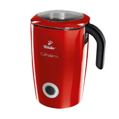 Tchibo Cafissimo Induktions-Milchaufschäumer (500ml, 500 Watt) Rot