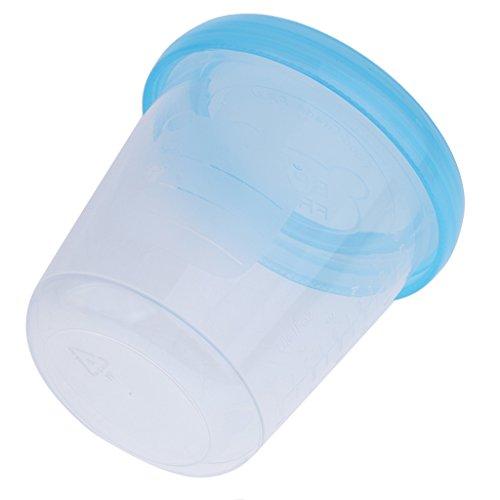 Gazechimp Babynahrung Aufbewahrungsbehälter Milchbehälter Food Storage Snack Cups mit Deckel