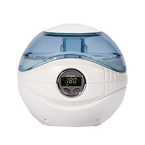 Global-Cleaning 600ml Haushalts-Ultraschallreiniger: Zeit/Temperatur-LED-Anzeige, zeitgesteuert/antibakteriell, geeignet für Schmuck, Diamanten, Brillen, Sonnenbrillen