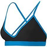 Mizuno Women's Beach Libertas Top, Black/Blue, Small by Mizuno