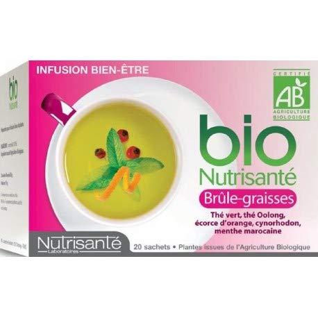 Nutrisanté Infusion Brûle-Graisses Thé Vert 20 Sachets