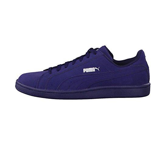 PUMA Smash Buck Mono Real leather sneaker blue 362836 04  Size 39