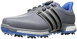 adidas Mens TOUR360 Boa Boost Tragre Golf Shoe, Trace Grey, 7 M US
