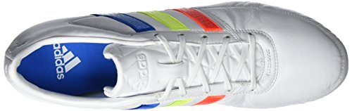 adidas Gloro 16.1 Fg, Chaussures de Foot Homme Blanc (Ftwr White/solar Yellow/shock Blue)