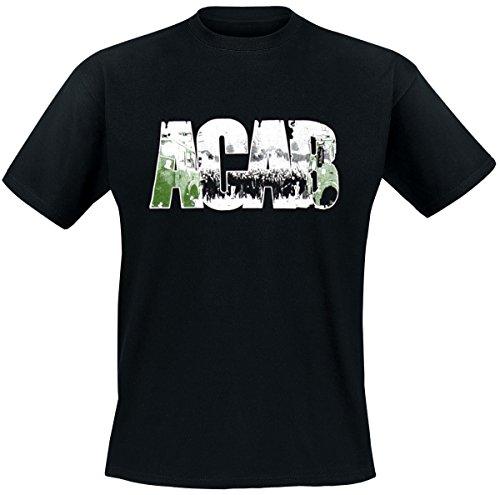 ACAB Demo T-Shirt Schwarz