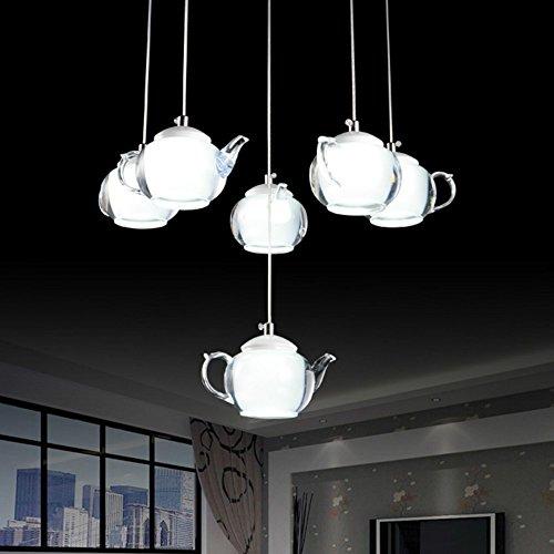 Led Kronleuchter / Pendent Licht Moderne Einfache 6 Köpfe Teekanne Lampen für Restaurant / Hotel /...
