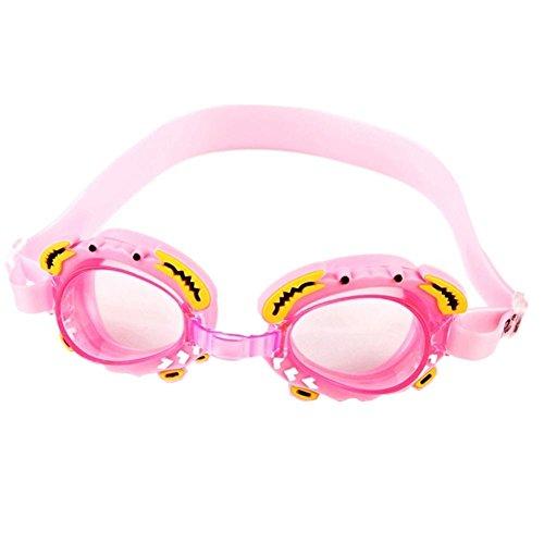 Tomobile Kinder Schwimmbrille, lustige Fisch-Stil Schwimmbrille für Kinder (4-12 Jahre), lecksicher...