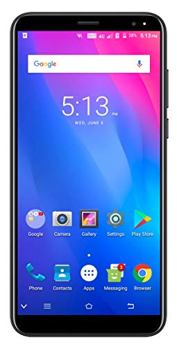 Xifo Ismart I1 4G Volte 5.95 Inch Display 4G Smartphone Blue (2GB RAM, 16GB Storage) in Blue Colour