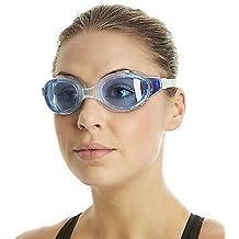 Speedo Futura Biofuse - Gafas de natación unisex, color transparente / azul, talla única