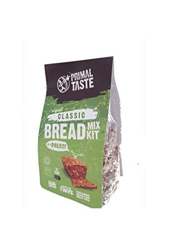 Bio Paleo Brot Backmischung - Classic Bread Mix Kit von Primal Taste – Organic, Glutenfrei, Paleo, Low-Carb, Ohne Weizen (Paleo Olivenöl)