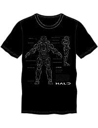 Halo 5 - Anatomie T-Shirt black