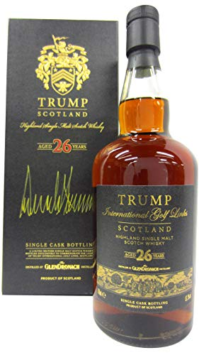 Glendronach - Signed by USA President Donald Trump - 1985 26 year old Whisky