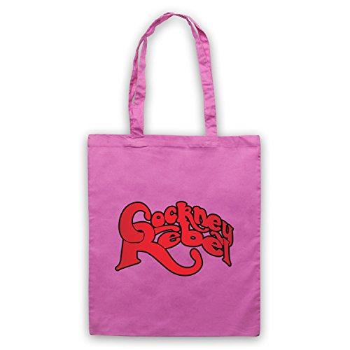 Inspiriert durch Cockney Rebel Logo Inoffiziell Umhangetaschen Rosa