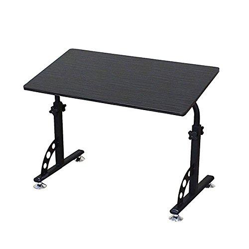 Jia He Lapdesks Laptop-Tisch - Nachttisch mit Riemenscheibe Verstellbare Tischhöhe-Liege Schreibtische Lernen Faltbare Lagerung Tischplattenneigung Optionale Farbe (Farbe : 01) - Liege Schreibtisch